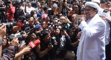 Habib Rizieq Bersaksi di Sidang Ahok, Ribuan Polisi Diterjunkan