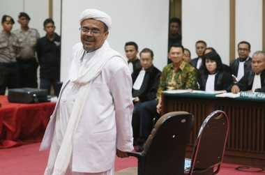 Kala Habib Rizieq Bersaksi di Sidang Ahok