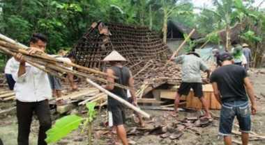 2 Rumah di Sarolangun Jambi Tertimbun Longsor