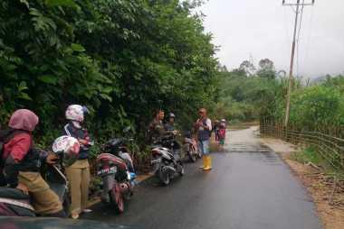 Hujan Deras Guyur Sumatera Barat, Sejumlah Sungai Meluap
