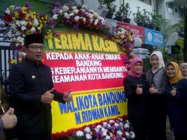 Begini Cara Ridwan Kamil Apresiasi Siswa Pengejar Pelaku Bom Bandung