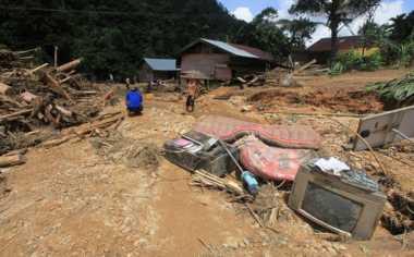 BPBD Sebut Sumbatan Sampah Penyebab Banjir Garut