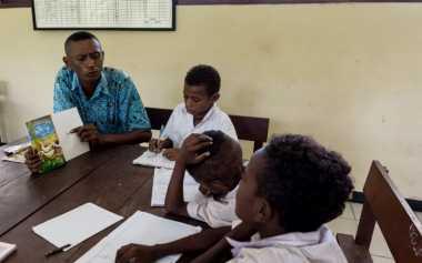 Duh, Minat Baca Pelajar di Mimika Tidak Mengalami Peningkatan