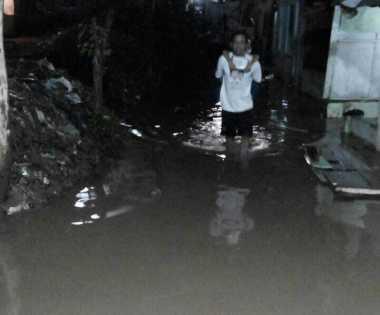 Kampung Arus Cawang Kembali Kebanjiran, Ketinggian Air Mencapai 70 Cm
