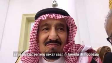 VIDEO: Ini Komentar Raja Salman di Vlog Presiden Jokowi