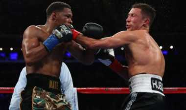 Taklukkan Jacobs, Golovkin Pertahankan Gelar Juara WBC