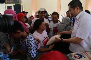 Foto-Foto Hary Tanoe Lantik 205 DPRt dan Tinjau Bazar Murah Perindo di Lumajang