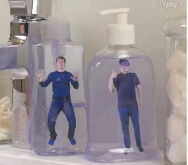 Dispenser Sabun Bekas Jangan Dibuang! Pajang Foto Anda Hasilnya Keren