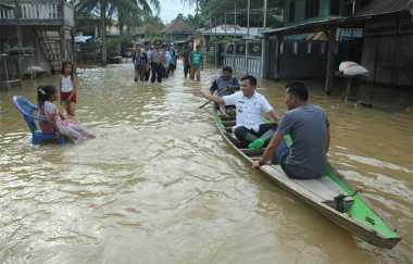 Duh, Gara-Gara Ilegal Logging Jambi Dilanda Banjir