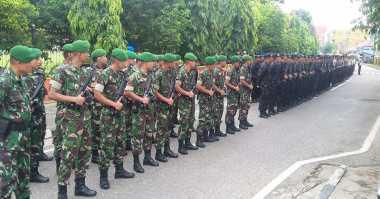 3.000 Pasukan TNI-Polri Siap Kawal Presiden Jokowi di Tapanuli