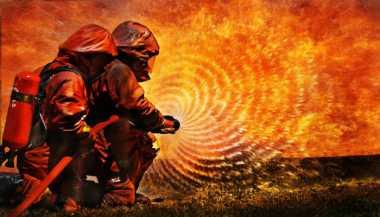 Duh, Lahan Kosong Seluas 1 Hektare di Kompleks Polri Terbakar
