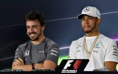 Alonso Terpuruk, Hamilton Yakin Rivalnya Akan Bangkit Beberapa Tahun Lagi