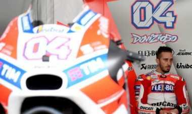 Tampil Hebat di Uji Coba, Dovizoso Pede Raih Podium di MotoGP Qatar