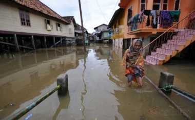 Tolong, Rumah Warga Lumajang Terendam Banjir
