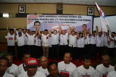 DPW Perindo Jatim Minta DPD Segera Bentuk Pengurus Tingkat TPS