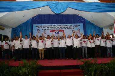 Hary Tanoe Lantik 271 Pengurus DPRt Perindo Se-Blitar