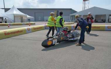 Wiih, Mobil Hemat Energi UI Raih Juara Tingkat Asia