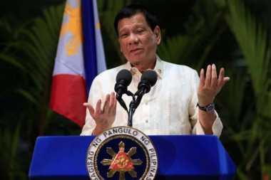 Presiden Filipina Sebut AS Lakukan Tindakan Provokatif Terkait Laut China Selatan