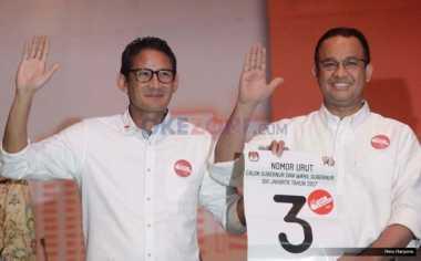 Ogah Ambil Pusing soal Kampanye Hitam, Anies-Sandi Percaya Masyarakat Jakarta Cerdas
