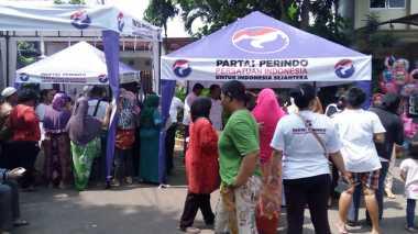 Bazar Murah Perindo di Palmerah, Berkah Warga Jakarta