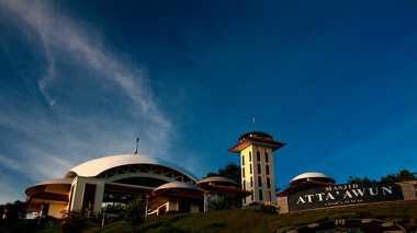 Menengok Keindahan Masjid At Ta'Awun di Puncak