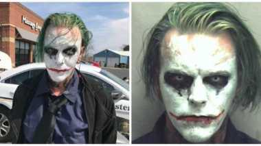Bergaya Bak 'Joker', Pria AS Diciduk Polisi