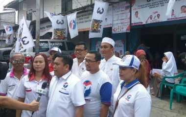 Dukung Anies-Sandi, DPD Perindo Jakpus Gelar Kesehatan Gratis