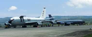 AS Jemput 14 Kru Pesawat Militernya yang Rusak Mesin di Aceh
