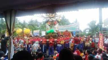 Sambut Hari Raya Nyepi, Partai Perindo Jembrana Gelar Lomba Ogoh-Ogoh