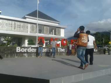 Ungkapan Cinta Lettu Wira dari Perbatasan Negara