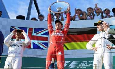Vettel Juara GP Australia 2017, Presiden Ferarri: Ini Kemenangan Berharga!