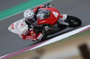 Wih! Gerry Salim Start dari Grid Depan di Asia Talent Cup 2017 Seri Qatar