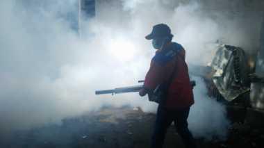 Rescue Perindo Asapi Permukiman Warga di Bandungan Semarang