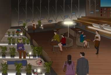 Wow, Kafe Ini Perbolehkan Pengunjung Tidur Sambil Minum Kopi