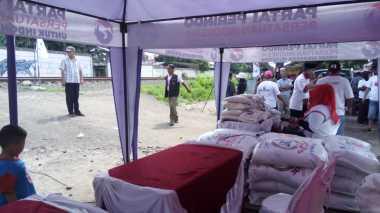 Warga Kalideres Berbondong-bondong Datangi Lokasi Bazar Perindo