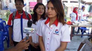 Dukung Anies-Sandi, Kartini Perindo Bagikan Paket 500 Beras Murah di Tanjung Priok