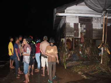 Innalillah.. Diterjang Banjir Bandang, Puluhan Rumah Rusak di Padang Sidempuan