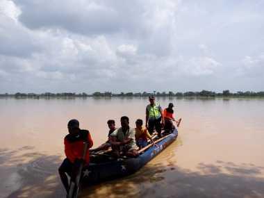 Ribuan Warga Bima Terpaksa Mengungsi Imbas Banjir