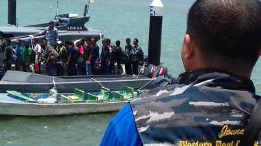 TNI AL Gagalkan Penyelundupan Puluhan TKI ke Malaysia di Perairan Kepri