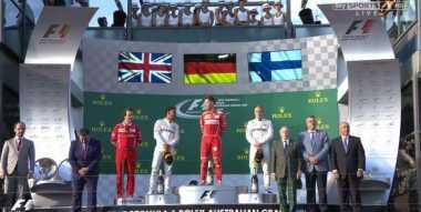 Finish Pertama di GP Australia, Bottas: Vettel Layak Jadi Juara!
