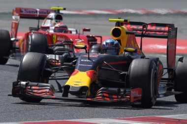 Finis di Posisi 5 GP Australia 2017, Max Verstappen Kaget