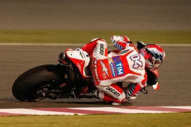 Tempati Posisi Kedua di GP Qatar 2017, Dovizioso: Itu Sangat Sulit Tapi Kami Cukup Cerdas!
