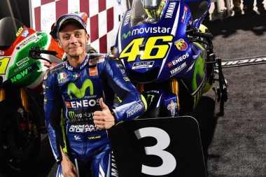 Valentino Rossi: Finis Posisi 5 Sudah Bagus, Eh malah Naik Podium