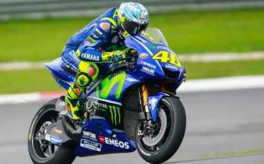 Harapkan Dovizioso Bermasalah dengan Motornya, Rossi Justru yang Ketiban Sial