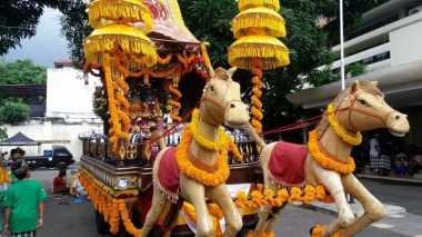 Malioboro Dilewati Ogoh-Ogoh hingga Kereta Sri Jaganad Balarama
