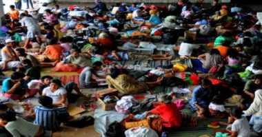 84 Jiwa Mengungsi Akibat Banjir di Mojokerto