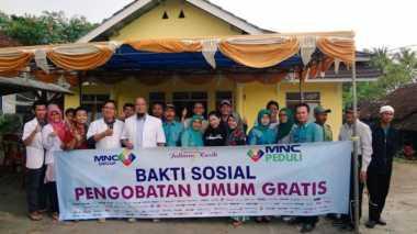 MNC Peduli Bakti Sosial di Sukabumi, Ratusan Warga Terlayani Pengobatan Gratis