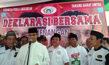 Anies Baswedan Menghadiri Deklarasi Tokoh Betawi Tanjung Barat