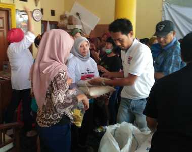 Kartini Perindo Senang Dapat Bantu Warga Kebon Jeruk lewat Bazar