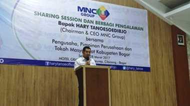 Sharing dengan Pengusaha di Bogor, Hary Tanoe Berbagi Kiat Sukses Membangun MNC Group